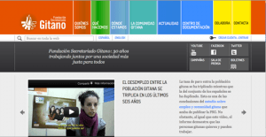 La nueva web de la Fundación Secretariado Gitano