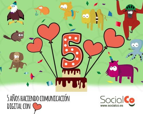 #5añosSocialCo