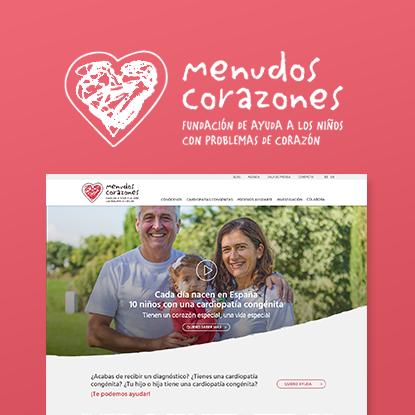 Web Corporativa Menudos Corazones