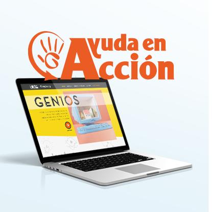 Desarrollo web para Ayuda en Acción GEN10S