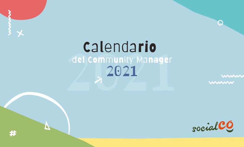 Portada Blog Calendario Community Manager 2021